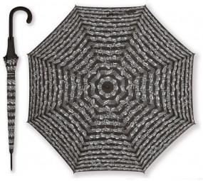 Regenschirm Notenblatt schwarz