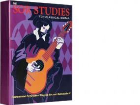 Klassikgitarren-Lernprogramm Software, englisch