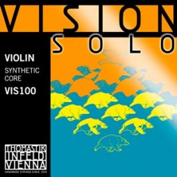 Satz Saite Violine Vision Solo, Silber