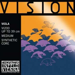 Satz Saite Vision Viola