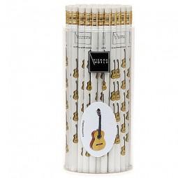 Bleistift Instrument mit Radiergummi