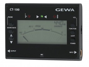 GEWA Stimmgerät/Metronom CT-100