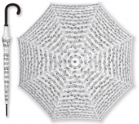 Regenschirm Notenblatt weiss